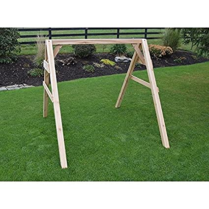 Amazon.com : A & L FURNITURE CO. 5\' 4x4 A-Frame Swing Stand for ...