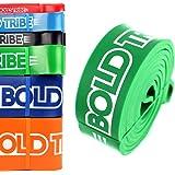Ligas de Resistencia Crossfit & Pull Ups Bold Tribe (6 Colores Disponibles). Incluye Extra 1 Mini Banda de Estiramiento (Loop Band), 1 Bolsa de Nylon Para Transporte , 1 Guía de Entrenamiento en PDF y Video Tutoriales de Entrenamiento de Regalo.