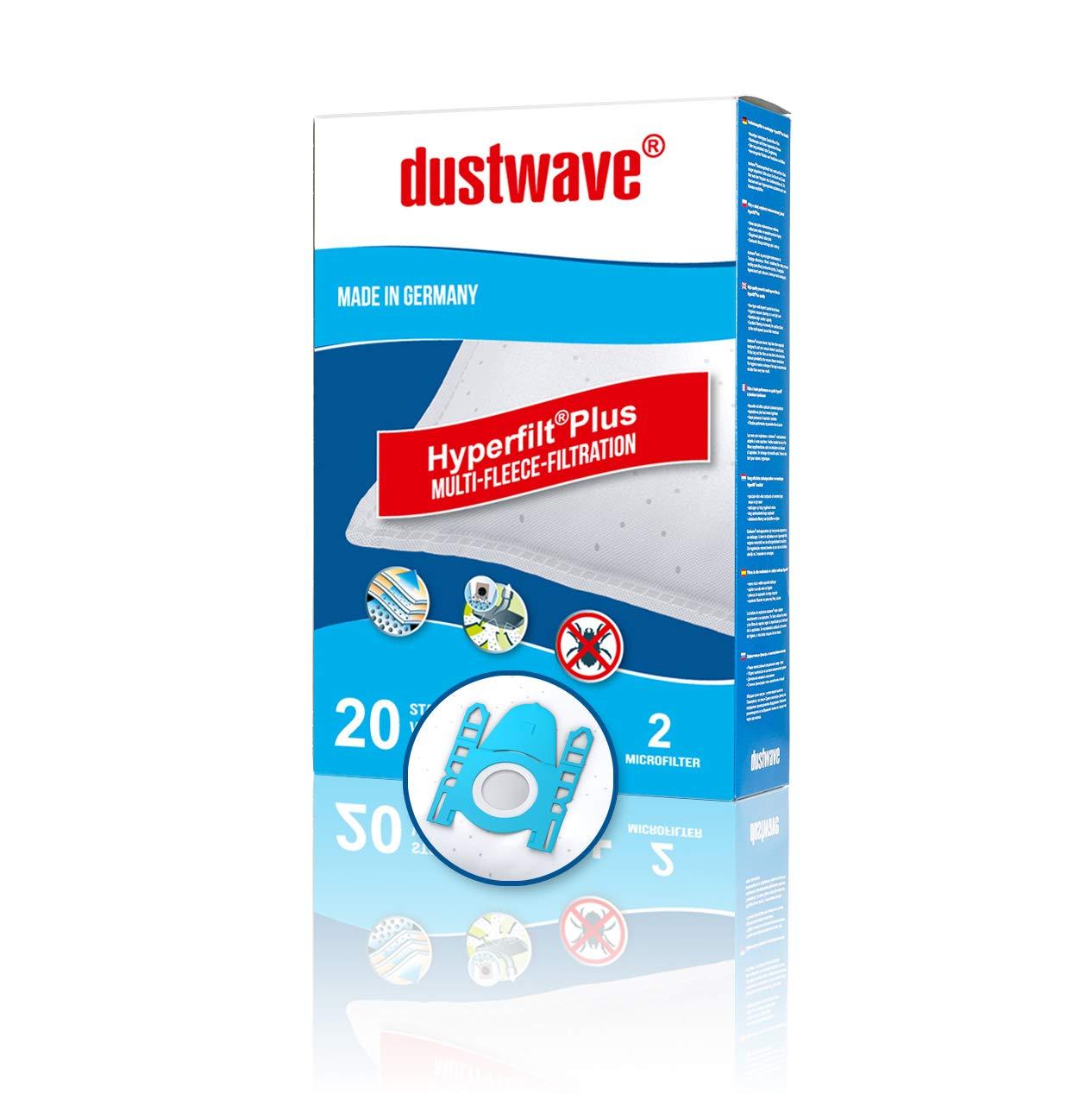 Original Swirl S67 oder dustwave D81 Staubfilterbeutel für Bosch Staubsauger