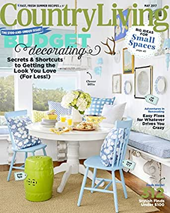 country living magazines. Black Bedroom Furniture Sets. Home Design Ideas