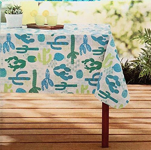 Mainstays Vinyl Tablecloth 52x70 Cactus Theme