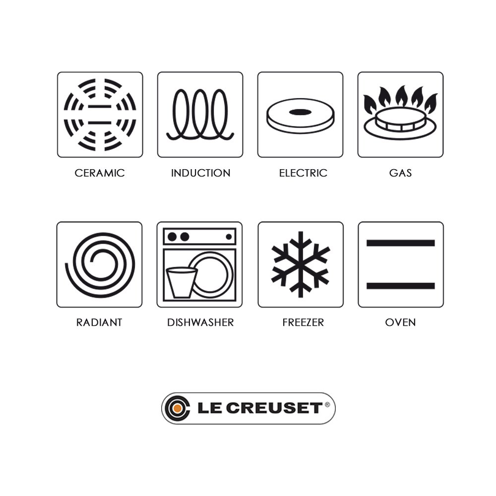 Le Creuset Extralarge rectangular grill 47x25x32 cm Cerise