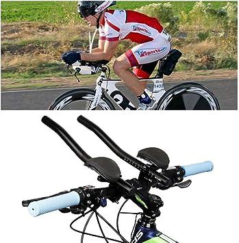 NANANA Triatlón Manillar Bicicleta Aleación de Aluminio Brazo para ...
