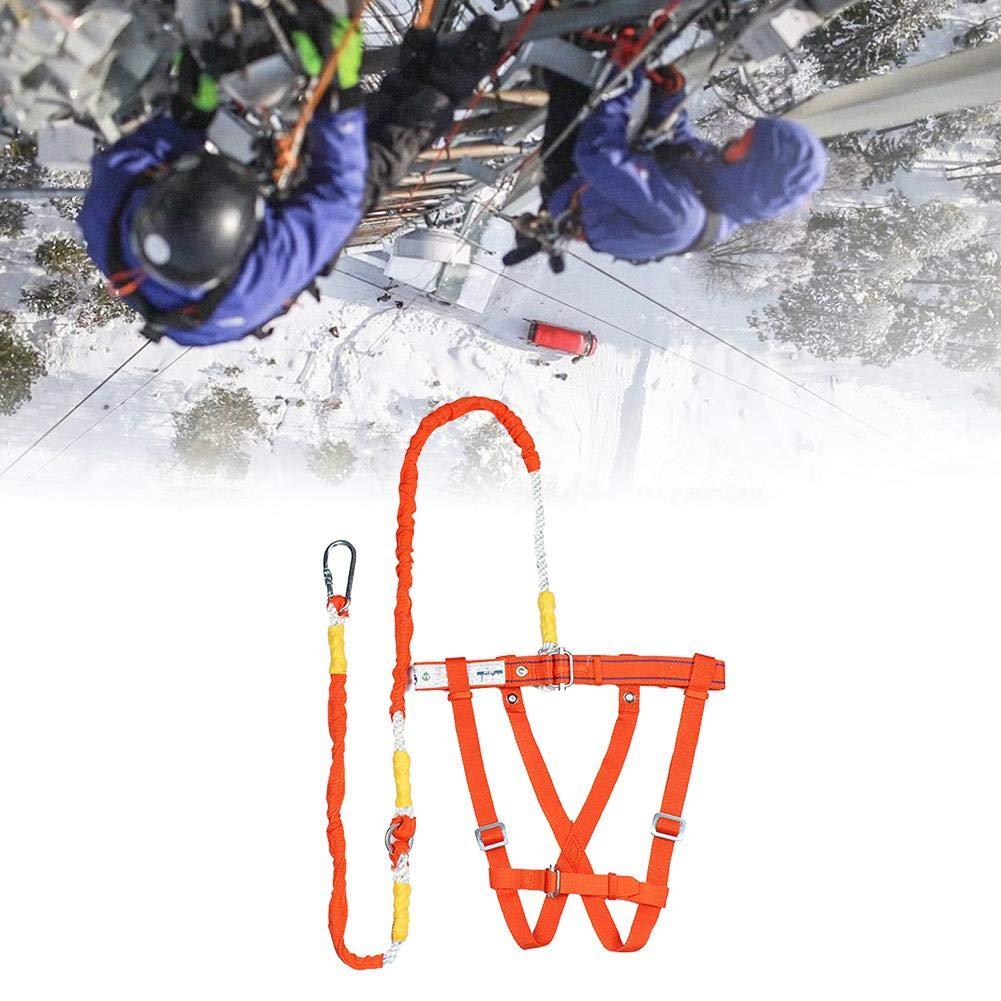 Arn/és de Protecci/ón contra Ca/ídas de Cuerpo Completo Cintur/ón De Seguridad para Escalada Aire Libre para Rescate En Trabajos A/éreos Arn/és Antica/ídas 3M chlius Kits de Arn/és de Seguridad