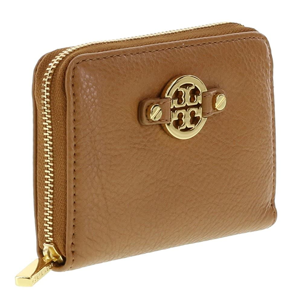 ea6461cbf735 Amazon.com  Tory Burch 50009090 Amanda Pebbled Leather Zip Coin Case Royal  Tan  Shoes