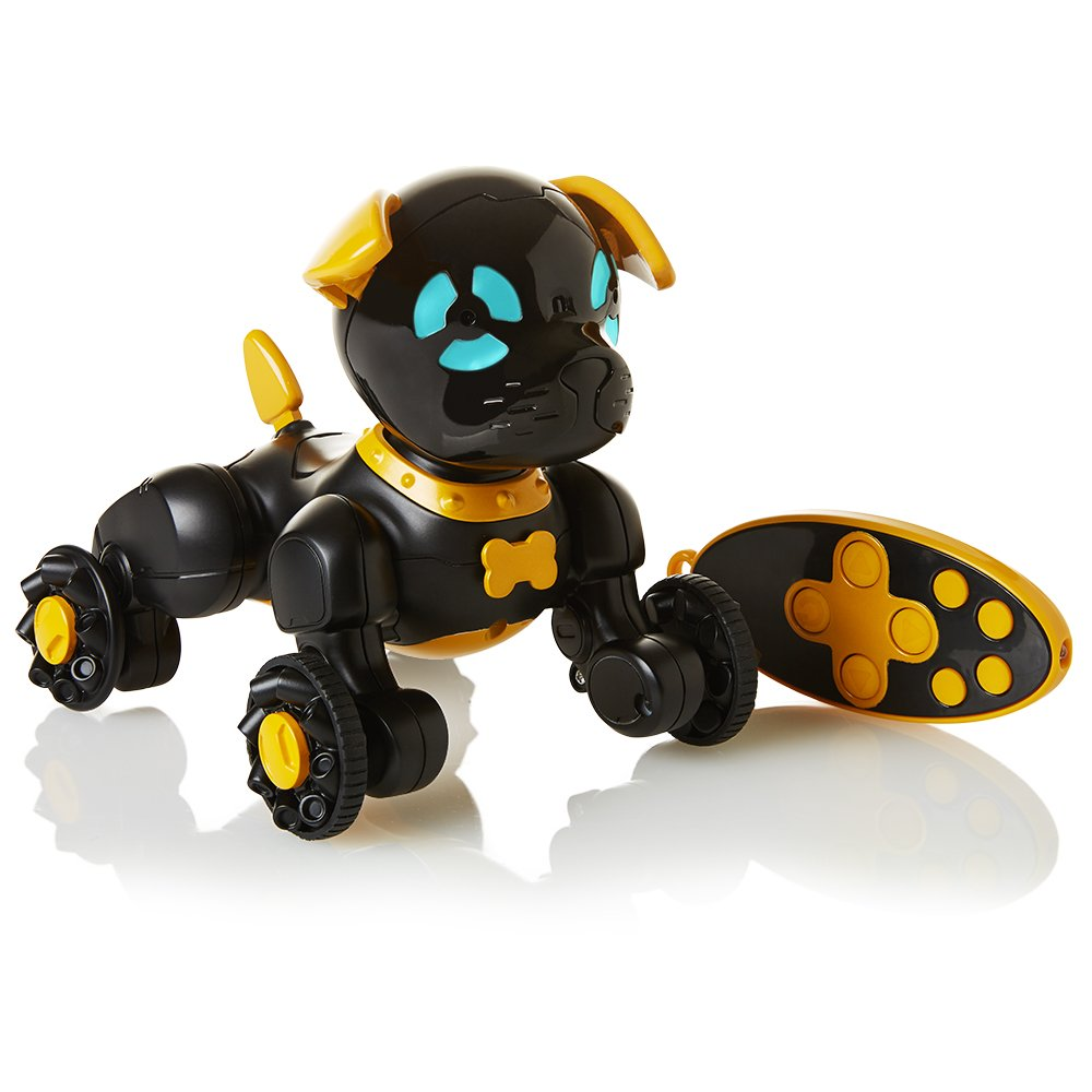 WowWee Chippies Robot Toy Dog -  Chippo (Black) by WowWee (Image #1)