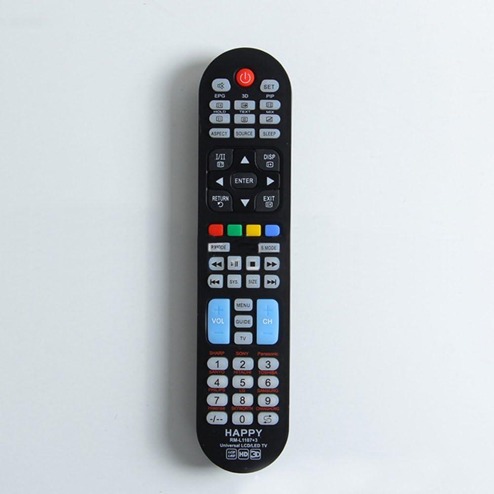 cenblue mando a distancia universal LCD/LED TV negro mando a distancia de repuesto para TCL CHANGHONG Skyworth Philips Samsung LG: Amazon.es: Electrónica