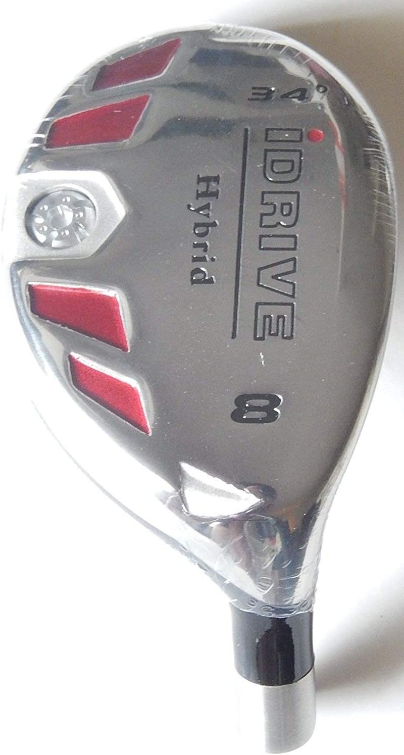 New Integra I-Drive Hybrid Golf Club 8-34 Right-Handed with Graphite Shaft, U Pick Flex
