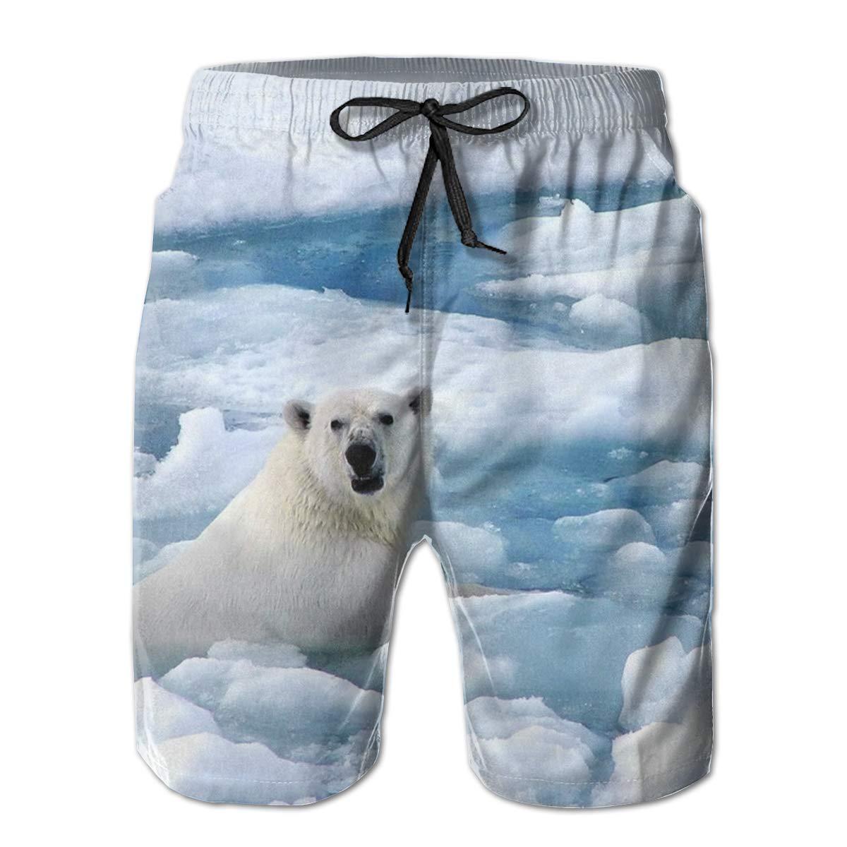 Sunshine Tall Tower Mens Beach Shorts Elastic Waist Pockets Lightweight Swimming Board Short Quick Dry Short Trunks