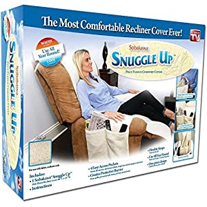 Sobakawa Snuggle Up Recliner Poly Fleece Comfort Chair Seat Cover  sc 1 st  Amazon.com & Amazon.com: Sobakawa Snuggle Up Recliner Poly Fleece Comfort Chair ... islam-shia.org
