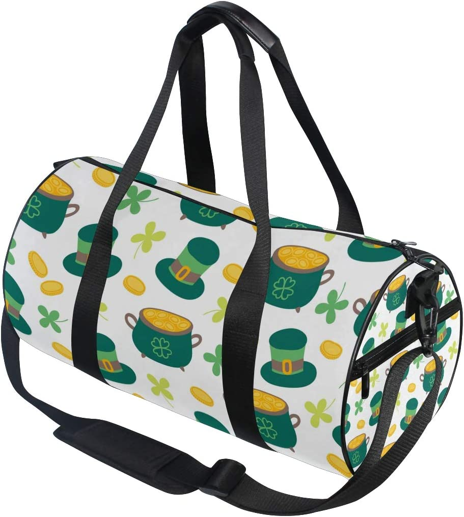 MALPLENA St Drum gym duffel bag women Travel Bag
