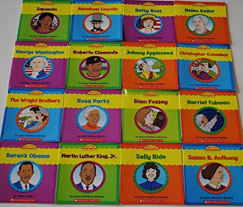 Set of 16 Very First Biographies Children's Books Homeschool Grade 1 2 Reading ()