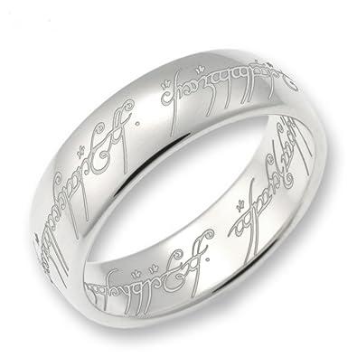 Ringe silber  Schumann Design Herr der Ringe Der eine Ring 925 Sterling Silber ...
