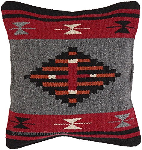 (El Paso Designs Aztec Throw Pillow Covers, 18 X 18, Hand Woven in Southwest and Native American Styles. 12)