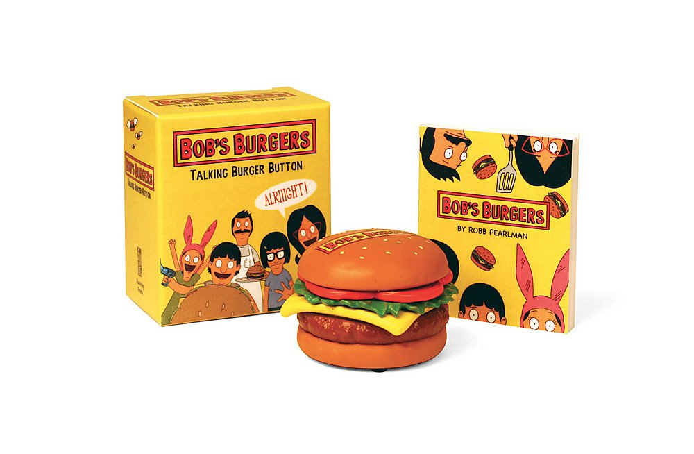 Bob's Burgers Talking Burger Button (RP Minis)