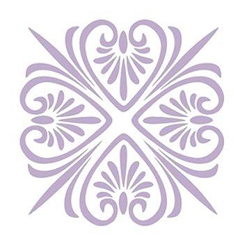 Schablone Wandmalerei homyl diy blumenmuster maler wandschablone schablone wandmalerei