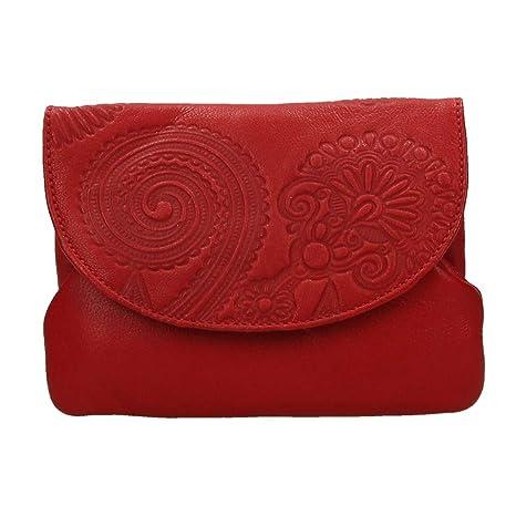 PORTAMONEDAS LUGUPELL Rojo - N428: Amazon.es: Equipaje