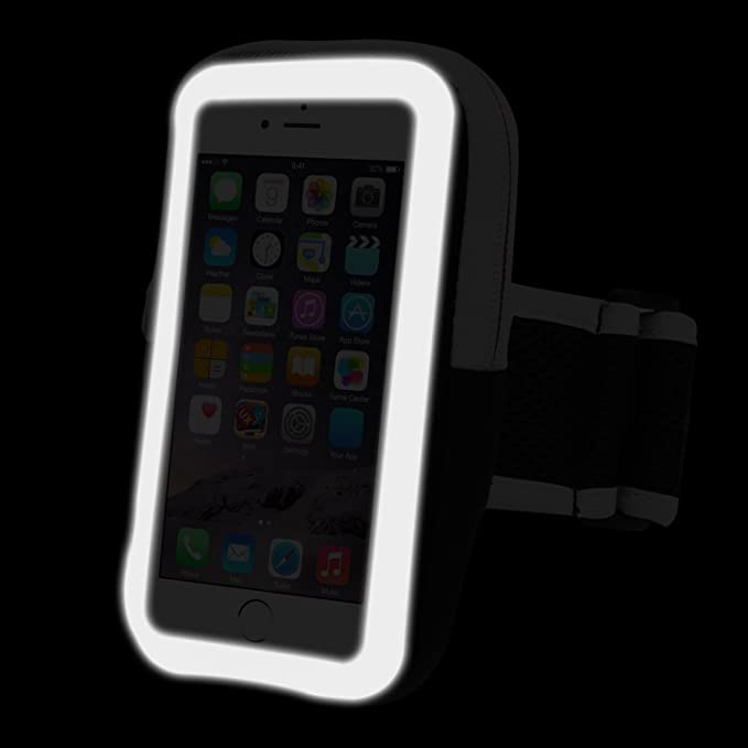 Amazon.com: Sports Armband Running Cell Phone Arm Band Sweatproof with Zipper Pouch Touch Screen for iPhone 7 Plus/6 Plus/6S Plus,Galaxy S3/S4, Note 5/4/3, ...