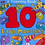 Ten Little Monsters, Jonathan Emmett, 0753453339