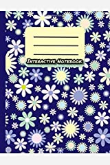Interactive Notebook: INB Template Composition Book: Table of Contents, Numbered Pages, Sketch Paper (left output), Wide Ruled (right input) and Glossary 8.5 x 11 Softcover Doodle Notes Writing Pad. Paperback