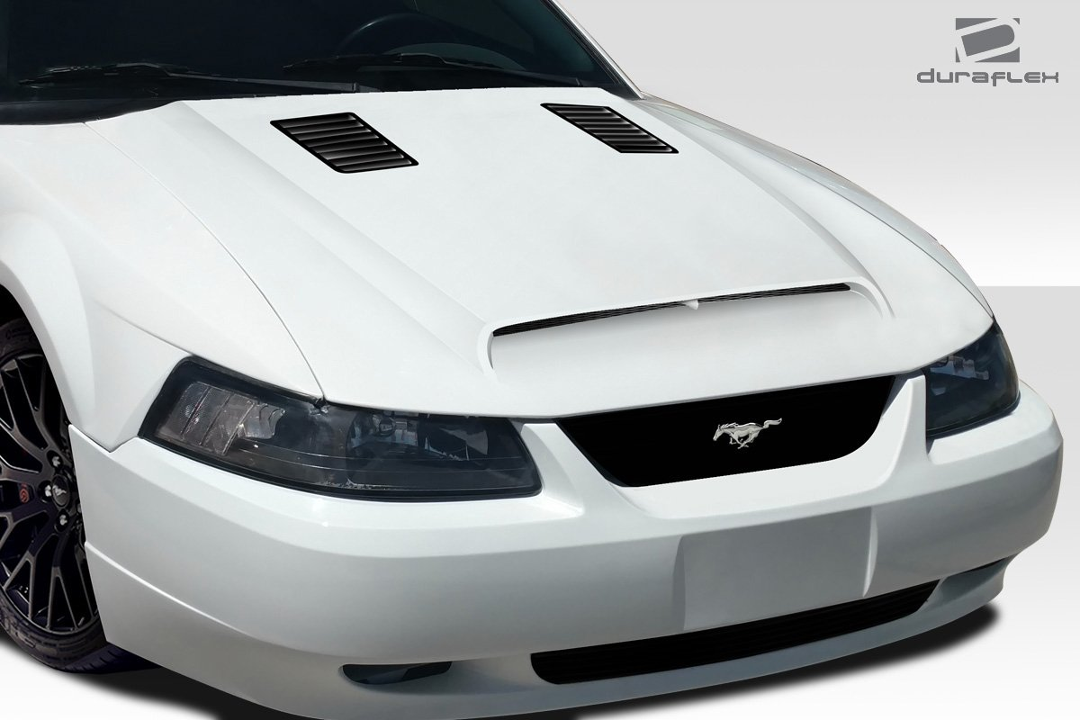1 Piece Body Kit Compatible with Ford Mustang 1999-2004 Duraflex ED-DYL-841 GT500 Hood