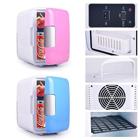 Destinamente Mini frigorífico con congelador, Mini Bar Pequeño, 5 ...
