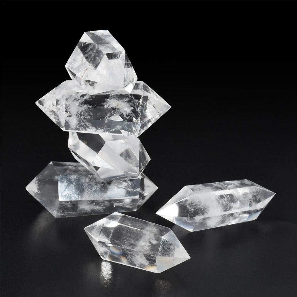 Arthomer - Cuarzo natural, cuarzo blanco, piedra curativa natural, fluorita natural, cuarzo para la terapia de cristal, chakras, piedras curativas