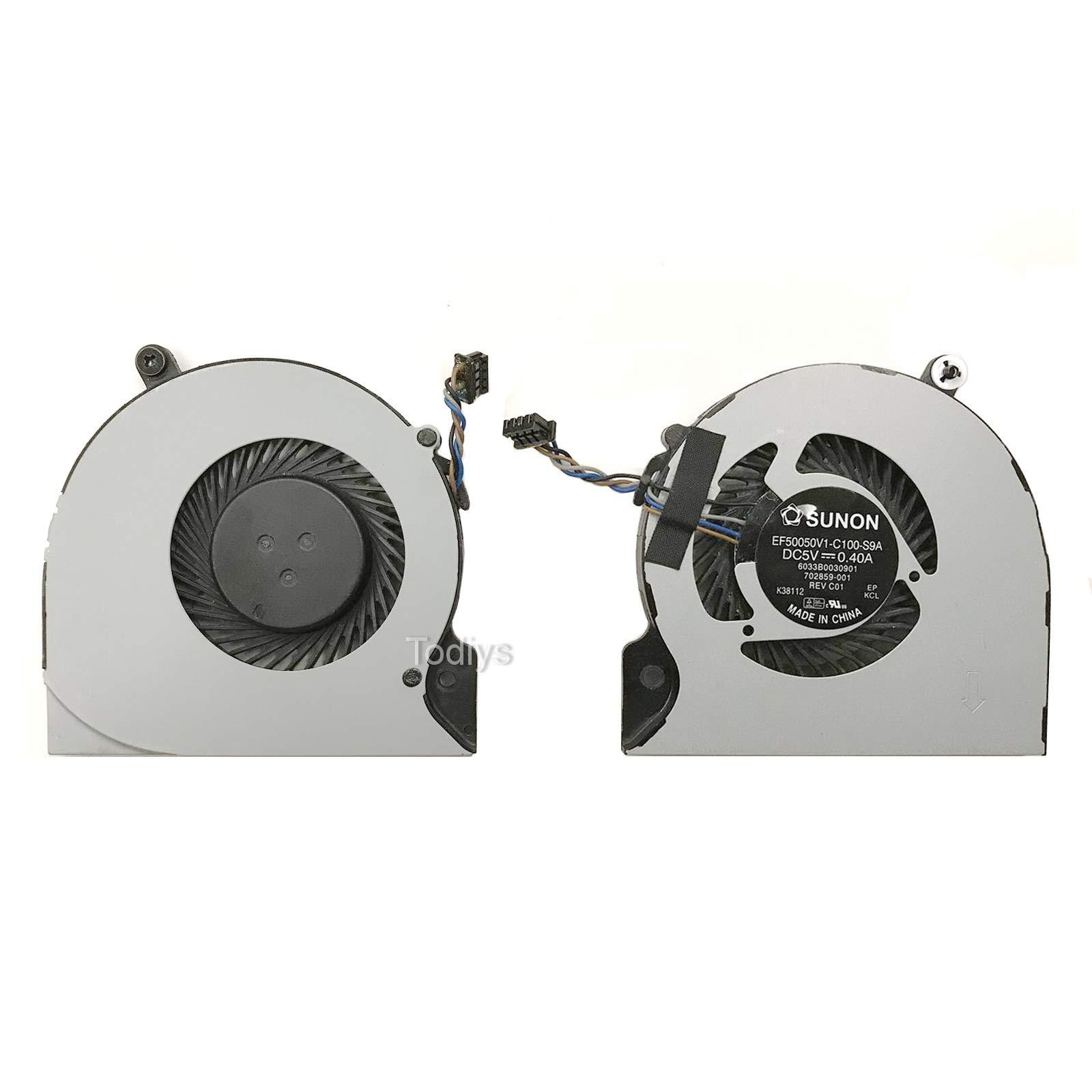 Ventilador CPU HP Elitebook Folio 9470 9470M 9480M Series 702859