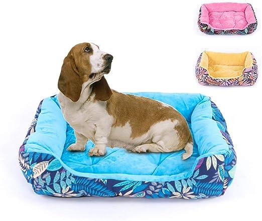Cama para Mascotas Mascota Lazy Couch Kennel Acolchado de algodón ...