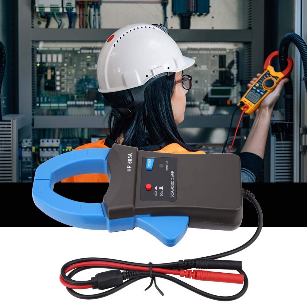 600A DC//AC Current Probe Clamp Meter Oscilloscope Clamp Meter Current Meter Digital Clamp Current Meter with Test Probe