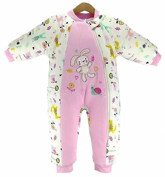 MIS - Saco de Dormir - para bebé niña Rosa 0-9 Meses: Amazon.es: Ropa y accesorios