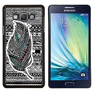 Dragon Case - FOR Samsung Galaxy A7 - Nothing is impossible - Caja protectora de pl??stico duro de la cubierta Dise?¡Ào Slim Fit