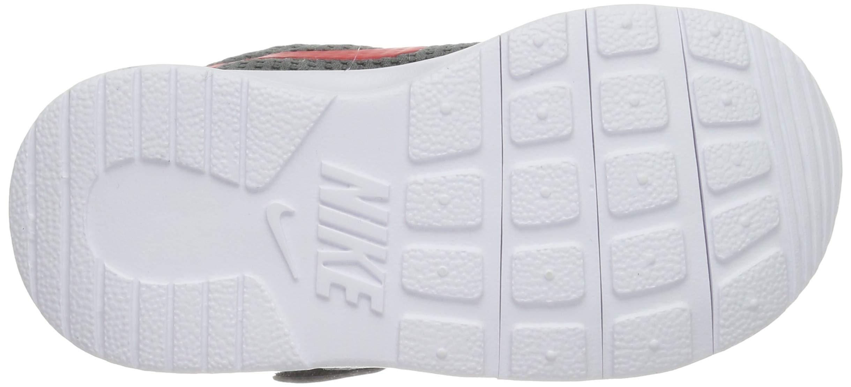 Nike Kid's Tanjun Running Shoe (7 M US Toddler, Dark Grey/University Red/White) by Nike (Image #3)