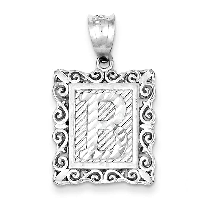 Solid Sterling Silver 18mm Boy Girl and Heart Necklace Pendant 2g