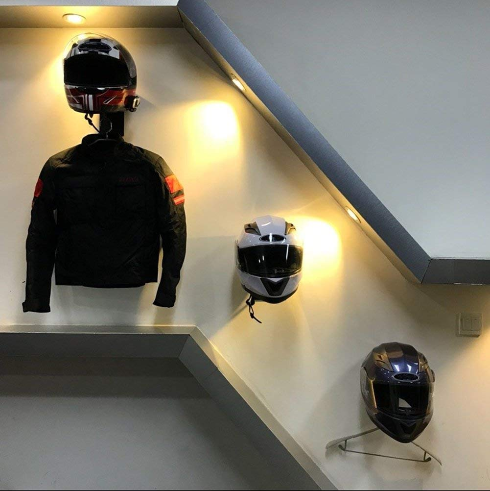 ILM - Soporte para casco de motocicleta
