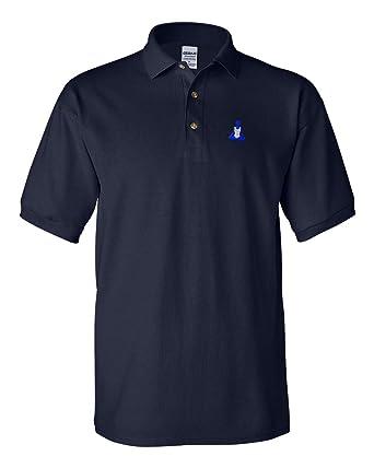 Amazon.com: Polo Shirt Yoga B bordado Club Nombre algodón ...