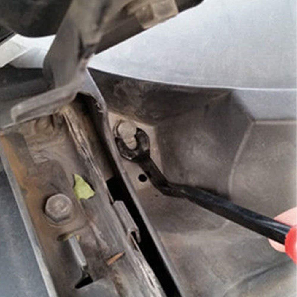 Asseny 3 Piezas Coche Tapizado Puerta Clips Remaches Alicates Cierre Quitar Herramienta Extractor Kit Set