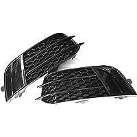 Auto-onderdelen RS1 Style Black Mistlamp Grille Cover Trim, voor Audi A1 Non Sline 2010~2015