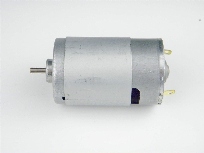 55CHANCS 555 Motore CC spazzolato 24 V 3500 RPM Tuta di protezione per ventilatore ad alta coppia per trapano