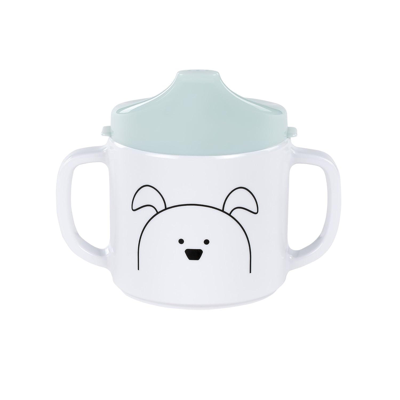 L/ÄSSIG Kinder Tasse Trinklernbecher rutschfest sp/ülmaschinengeeignet Melamin//Cup More Magic Horse pink