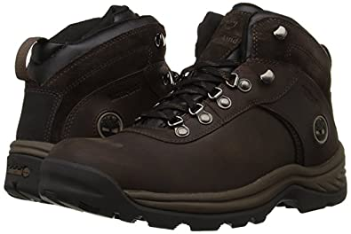 210efb6aa37 Timberland Men's Flume Waterproof Boot (9 D(M) US, Dark/Brown)