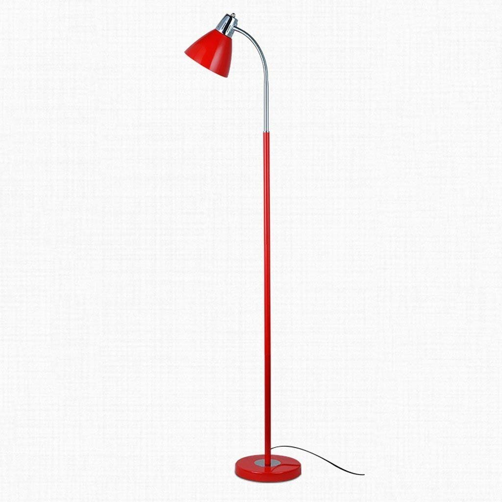 WW Floor Lamp Floor Lamp Iron Creative Living Room Study Lamp Reading Vertical-Style Floor Standing Lamp Black
