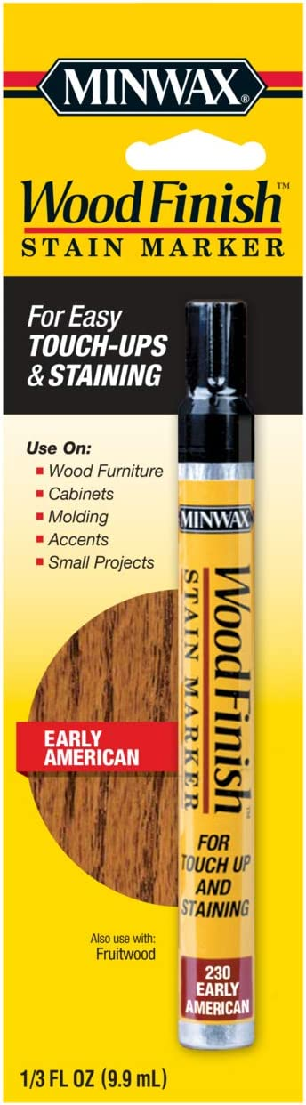 Minwax 63485000 Wood Finish Stain Marker, Early American