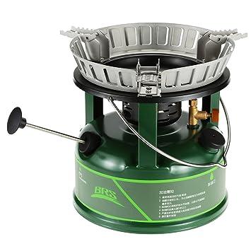 Lixada BRS Compact estufa de aceite de cocina utensilios olla para picnic: Amazon.es: Deportes y aire libre
