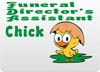 Eddany Funeral Director's Assistant Chick Plastic Acrylic