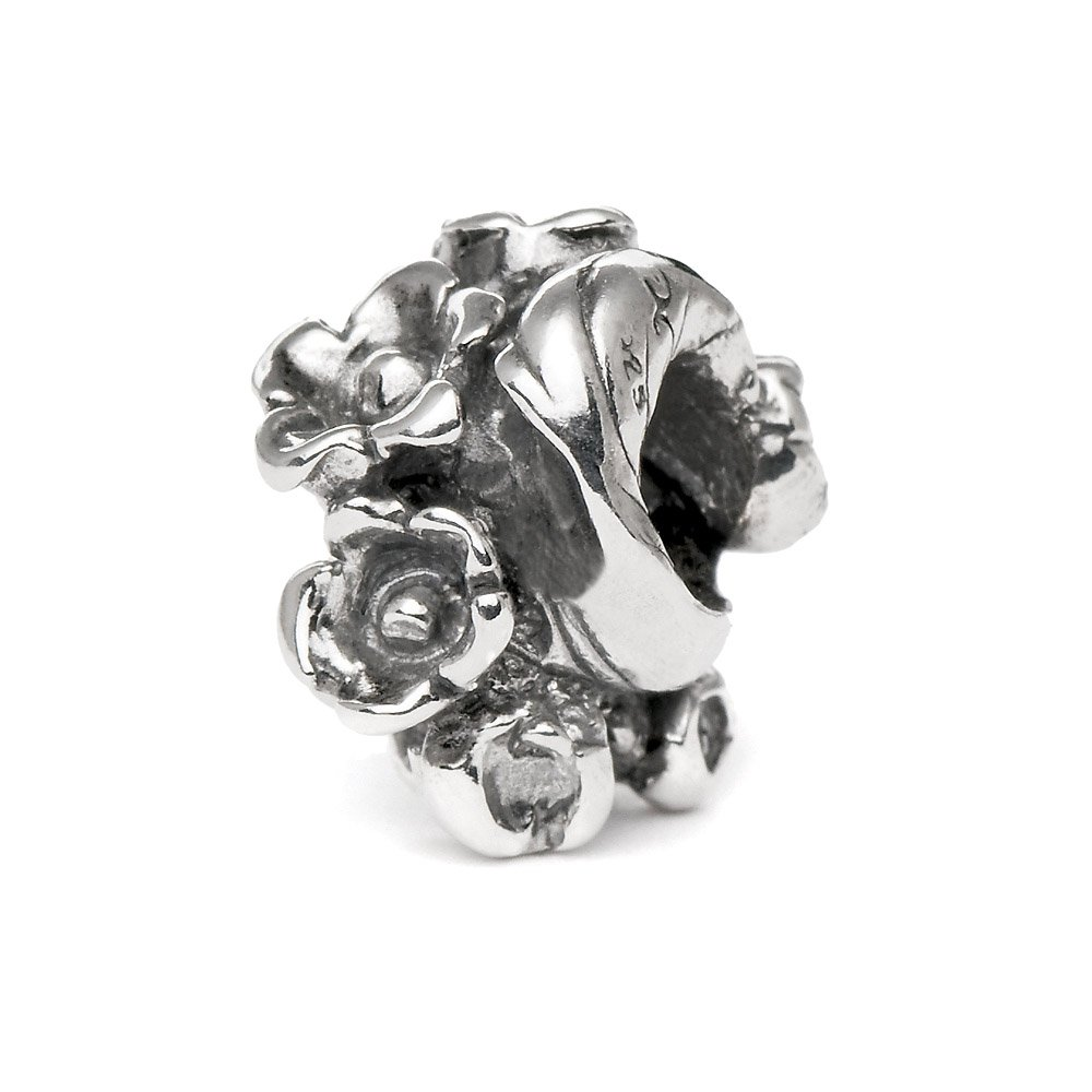 Novobeads Authentic Sterling Silver 1432 Lily of the Valley, Silver by Novobeads