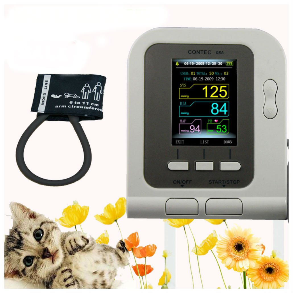 Vet Veterinary OLED digital Blood Pressure & Heart Beat Monitor by Unknown