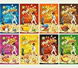 POP SHOW Corn Microwave popcorn Assorted Flavors (8 x 80g)