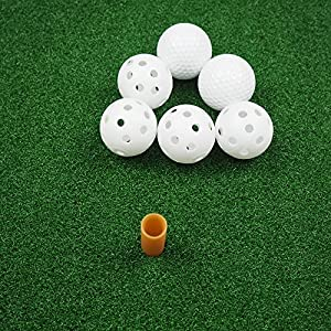 """Portable 20"""" 4 in 1 Golf Training Set, With Driving Mat, Chipping Net And 6 Golf balls Hitting Aid Practice Indoor and Outdoor"""