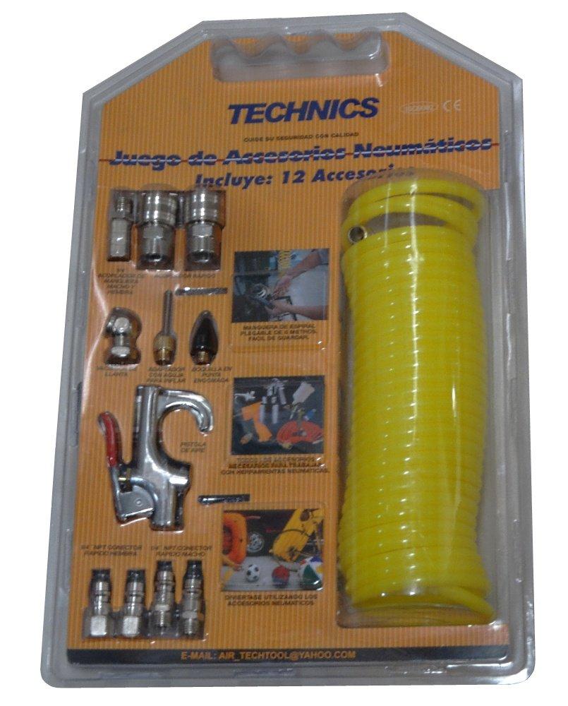 Amazon.es: AERZETIX: Kit accesorios de conexion rapida para compresor de aire C3945